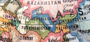 Central Asia map 023