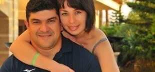 Dilshod Nazarov s suprugoi