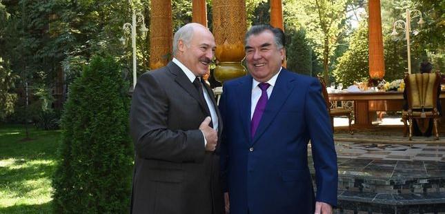 E.Rahmon i A.Lukashenko