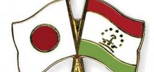 Flag Pins Japan Tajikistan
