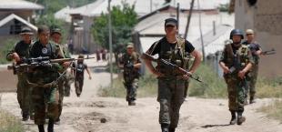 Pogranichniki Kyrgyzstan Tajikistan
