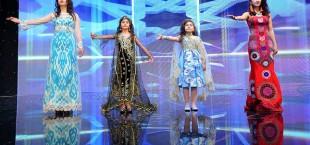 Tajik models The rose of east