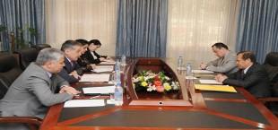 Встреча Министра иностранных дел Таджикистана с Послом Малайзии