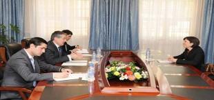 Встреча Министра иностранных дел с Послом Боливии