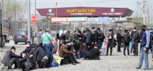 border Uzbekistan Kyrgyzstan 008