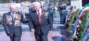 Празднование дня победы в Таджикистане