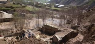 В минувшие выходные в результате обильных осадков пострадали жители ряда районов Таджикистана