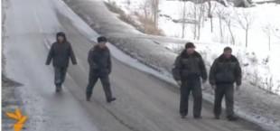 Таджикские и киргизские милиционеры приступили к патрулированию.