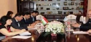Главы МВД Таджикистана и УВКБ ООН в РТ обсудили вопросы работы с беженцами