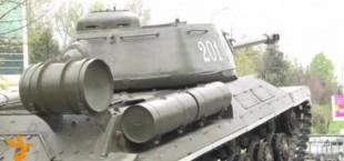 Российские военные восстановят танк времён Великой Отечественной войны в Душанбе