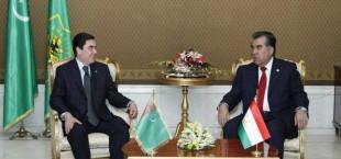 Рахмон примет участие в закладке железной дороги из Туркмении в РТ