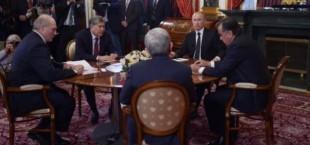 Рахмон и Атамбаев в Москве обсудили проблемы границы