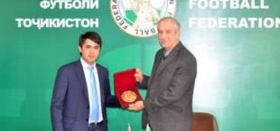 Федерации футбола Таджикистана и Ирана подписали меморандум о сотрудничестве