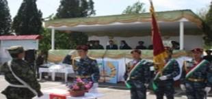 Новобранцы Внутренних войск МВД Таджикистана приняли присягу на верность Родине