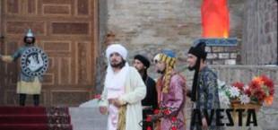 opera Rudaki okolo Gissarskoi kreposti