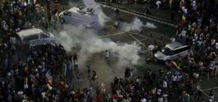 protesty v Rumynii