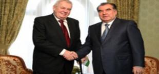 Э. Рахмон провел в Сочи встречу с президентом Чехии