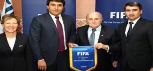 Президент ФИФА обсудил с руководством ФФТ вопросы развития футбола в Таджикистане