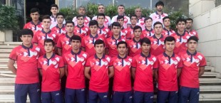 tajikistan u16 team in jordan