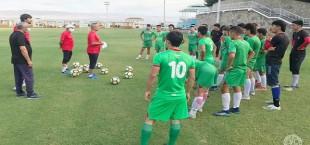 tajikistan u16 training camp