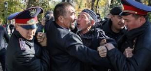 Kazakstan protest aganst China 012