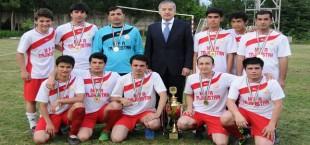 Футбольный турнир на «Кубок Министерства иностранных дел Республики Таджикистан»