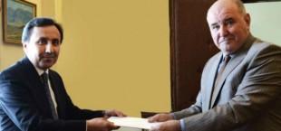 Посол Таджикистана вручил копии верительных грамот замглаве МИДа России