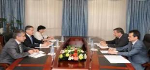 Глава МИД Таджикистана обсудил с послом России перспективы сотрудничества двух стран