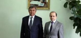 Муродали Алимардон принял посла Азербайджана в Таджикистане