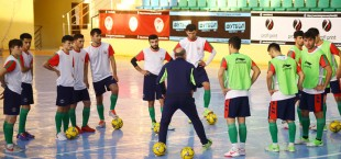 tajikistan futsal national team trainingcamp 1