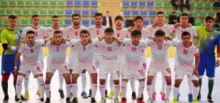 tajikistan futsal team 2019
