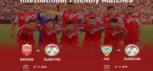 tajikistan national team 2020 friendly matches