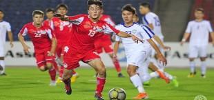 tajikistan u19 friendly match