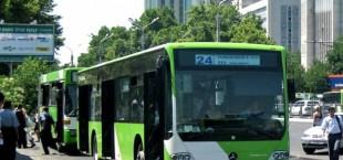 Ташкент закупает 100 новых автобусов